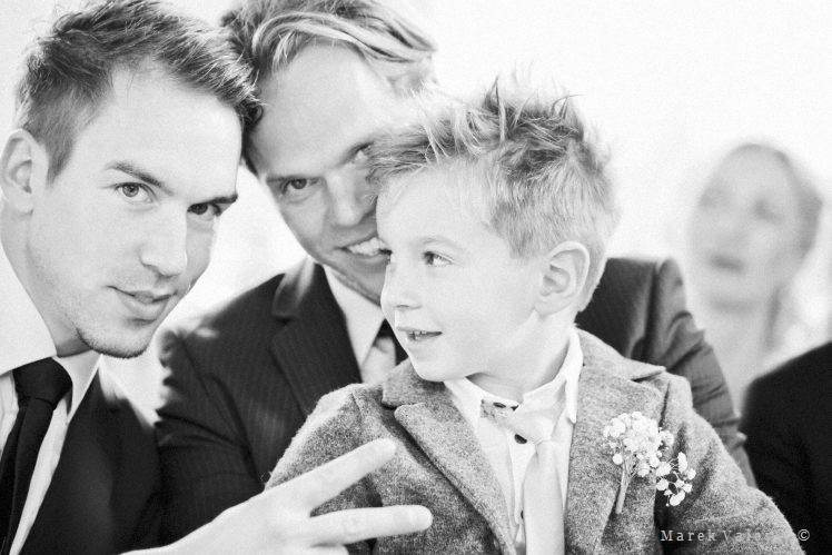 black and white wedding photography guests handsome boys