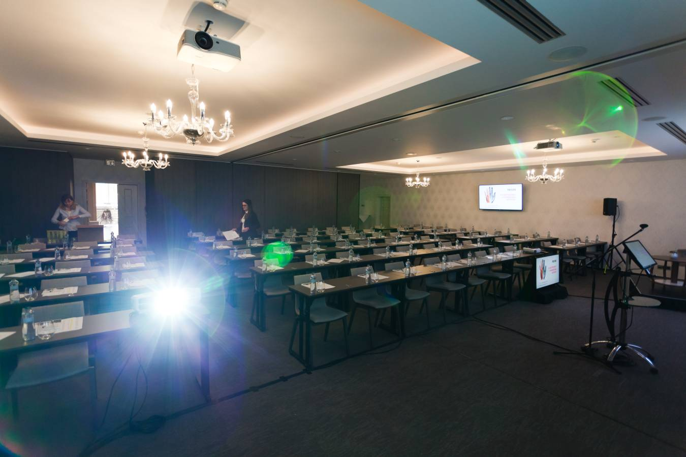 business event photography - conference room