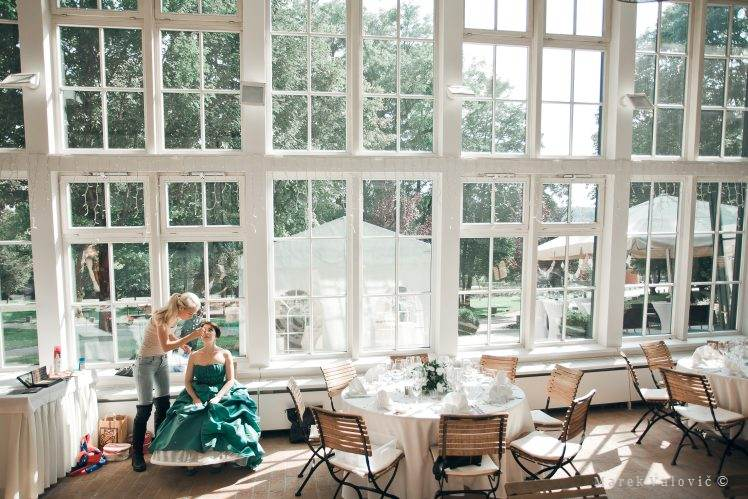 orangerie wedding Vienna - wedding photographer
