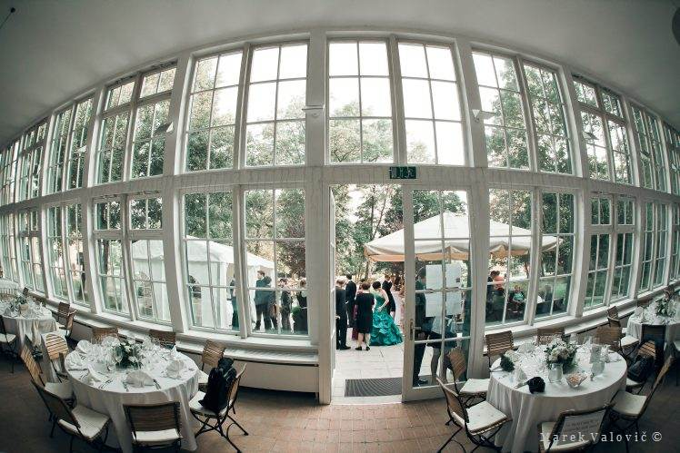 Europahause Orangerie wedding location