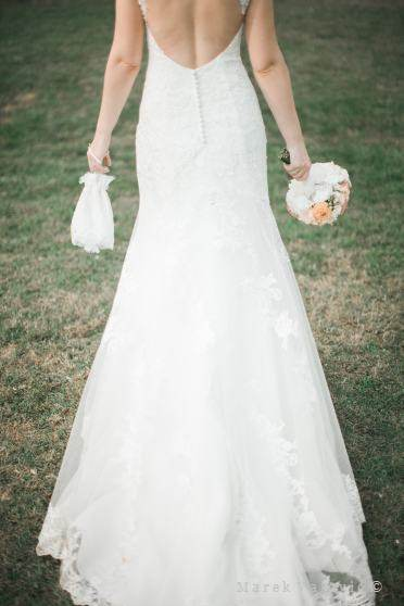 wedding dress and other details