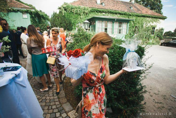 wedding planners - inner yard in Pfarrwirt Vienna