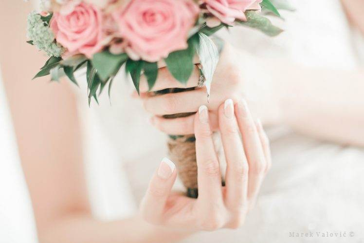 bouquet detail wedding photographer slovakia