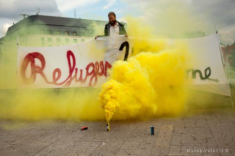 Freelance Photo Reporter Bratislava | Refugees Welcome | Hire a Photographer