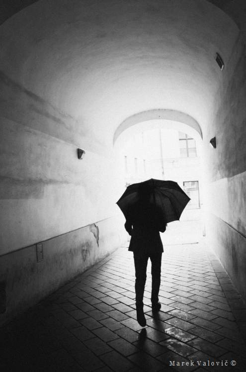 Hire photo reporter | man with umbrella | poetical documentary