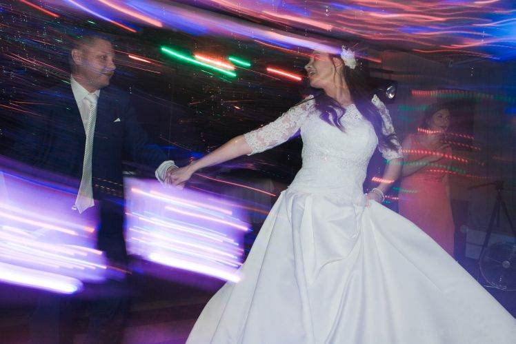 wedding dance - special photography