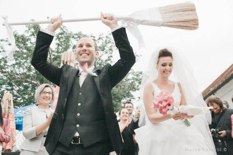groom broom wedding tradition