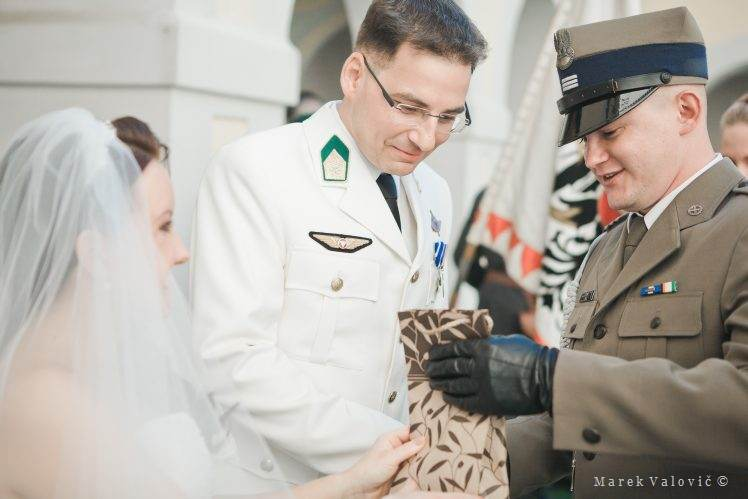 army wedding congratulation