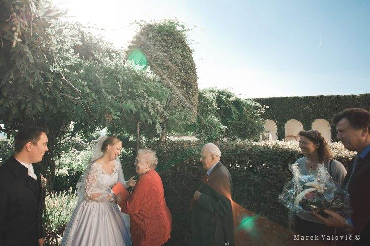 wedding congratulation Schloss Altenhof