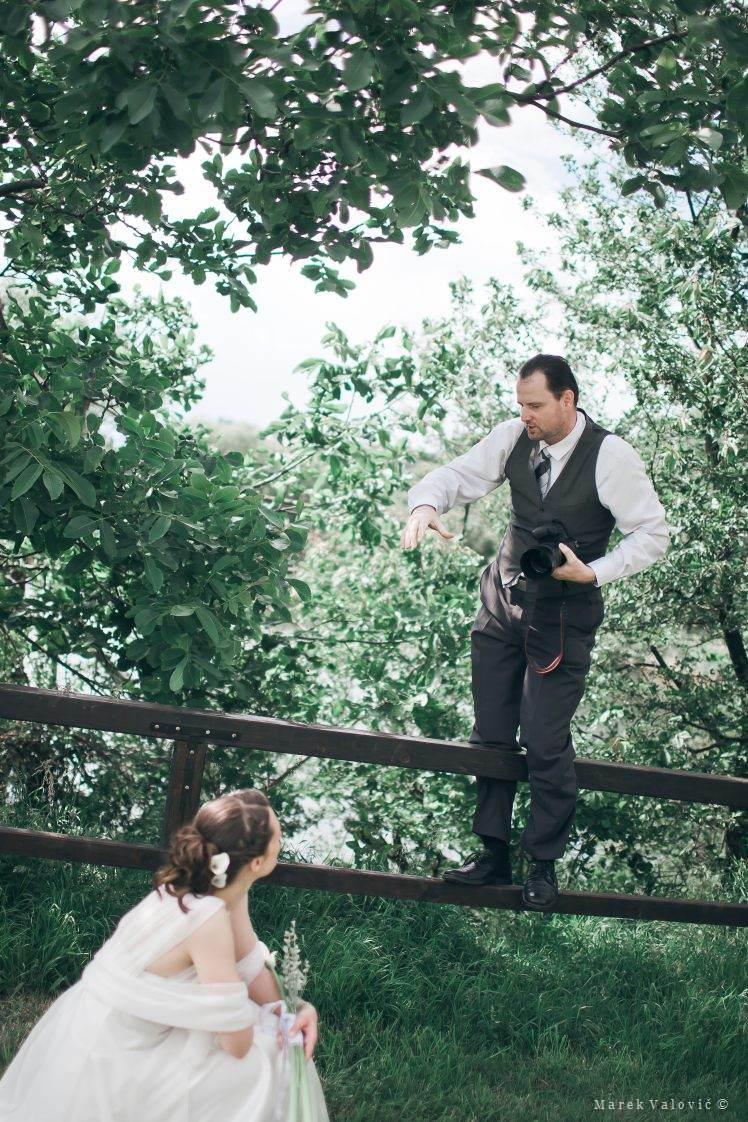 profesional wedding photographer Vienna - backstage