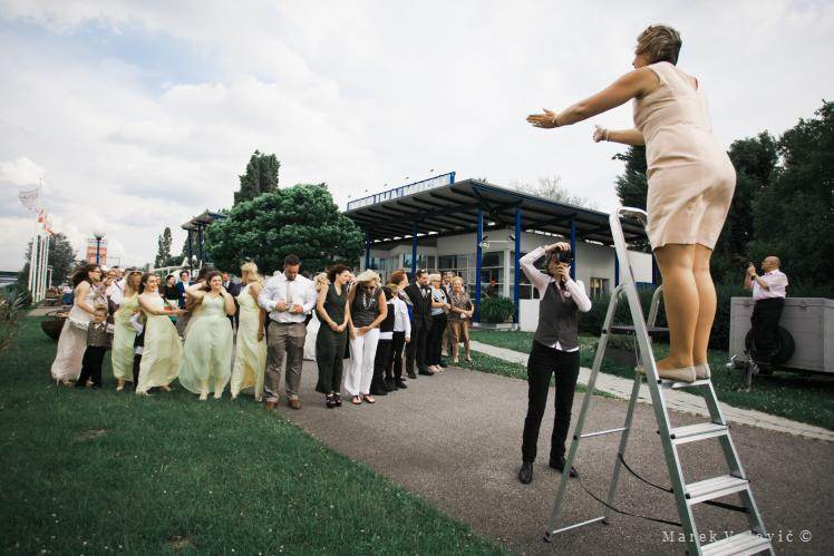 Marina restaurant wedding photographer - Vienna - backstage