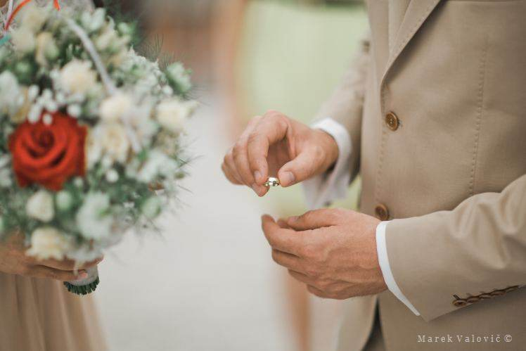 groom - wedding ring
