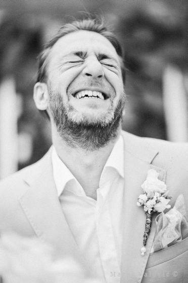 wedding emotions - groom